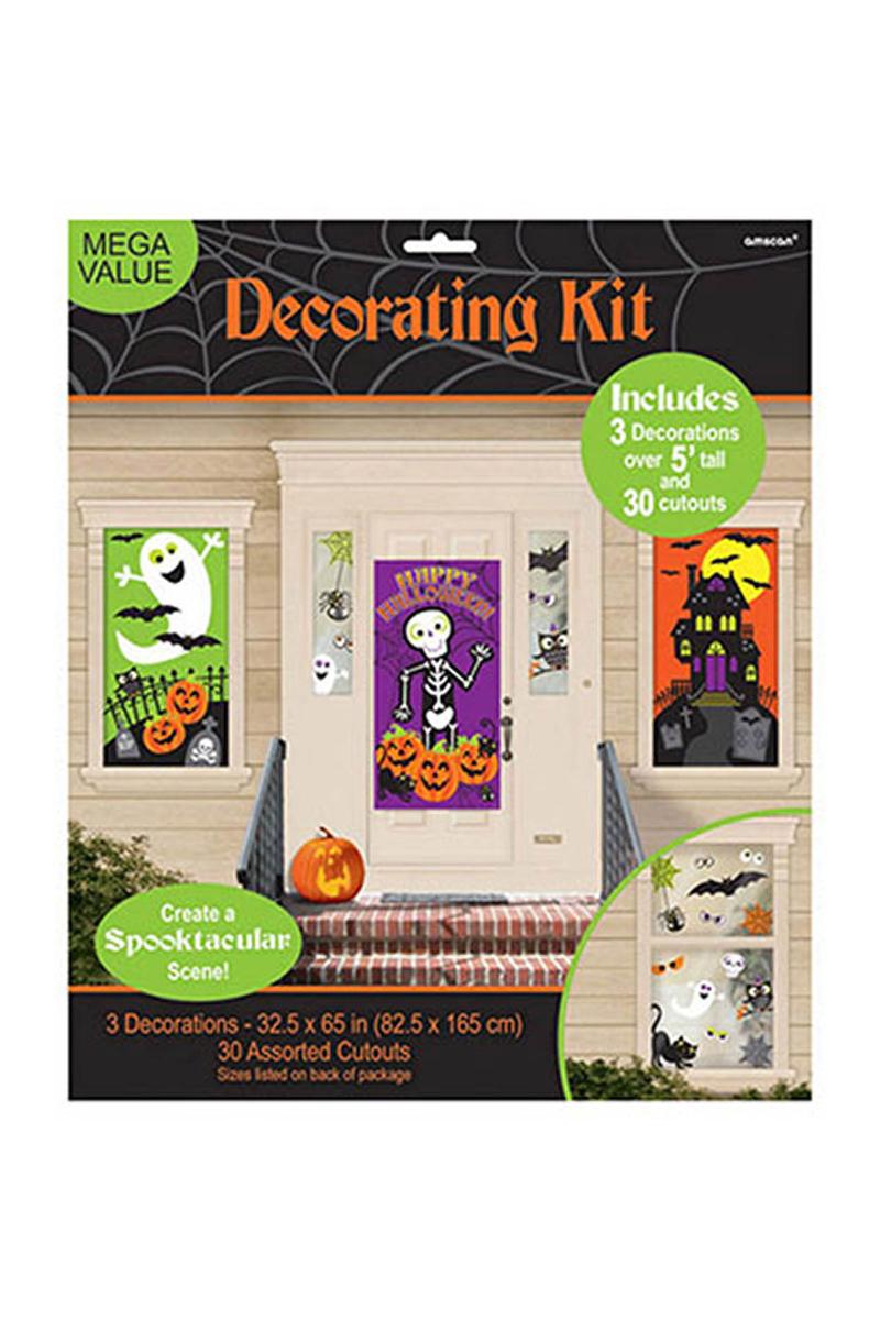 Cadılar Bayramı-Halloween Duvar Süsü 33 Parça