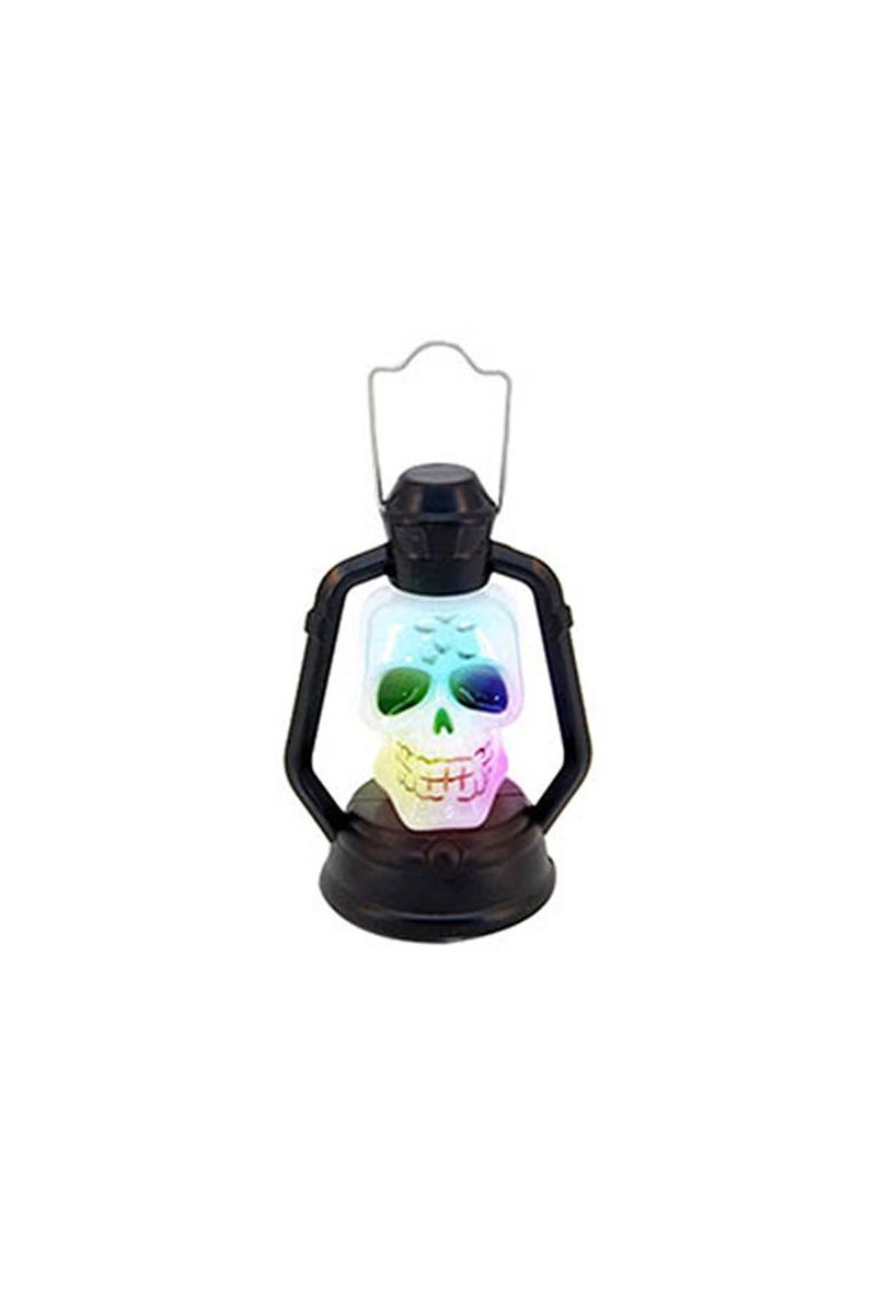 Halloween Figürlü Işıklı Plastik Fener 12cm. 1 Adet - Thumbnail