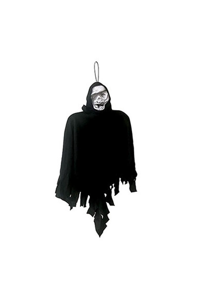 Halloween Hayalet İskelet Asma Süs Siyah 45cm 1 Adet