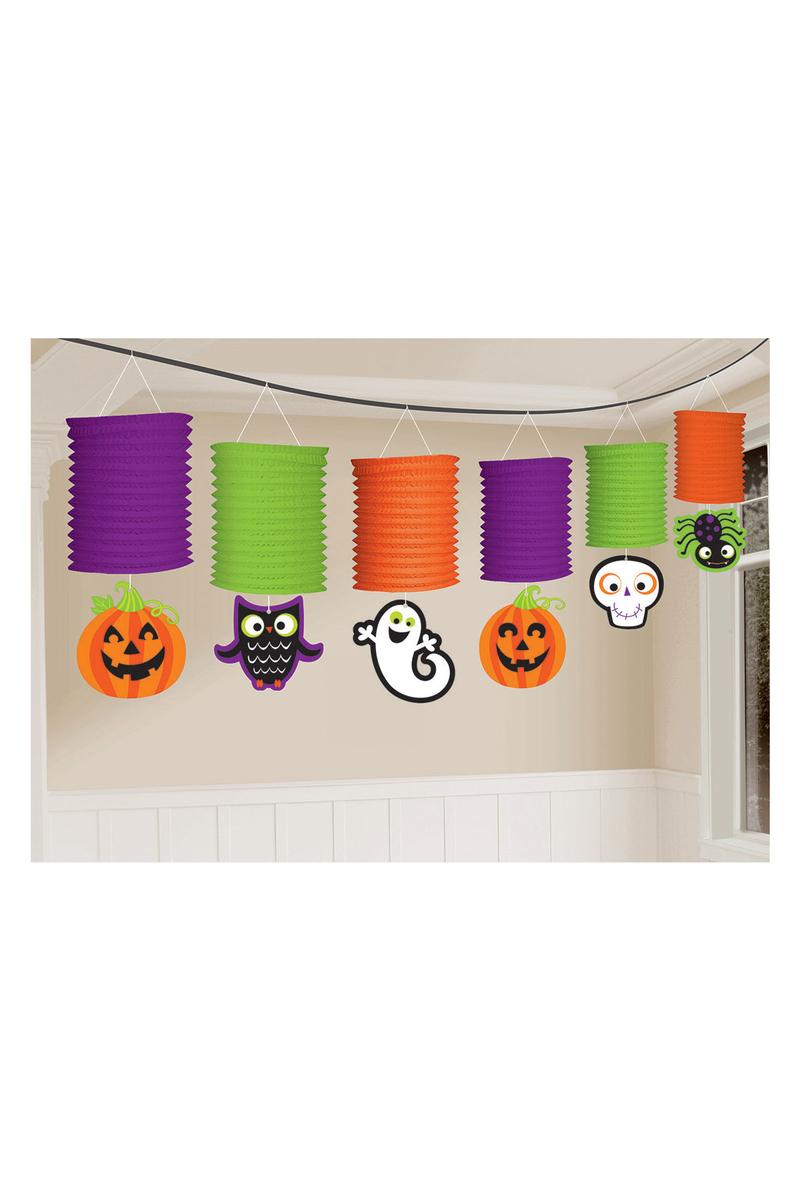 Cadılar Bayramı-Halloween Sıralı Fener Süs 1 Adet