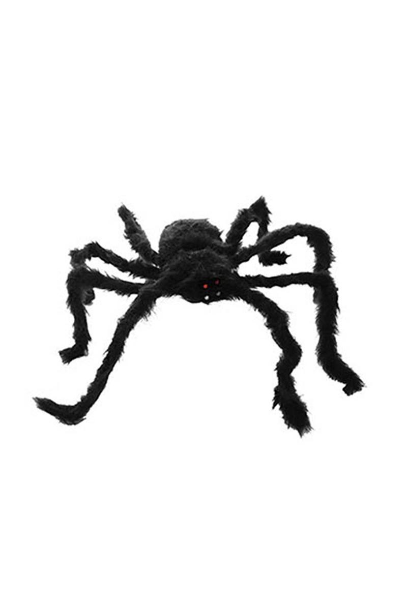 Cadılar Bayramı Tüylü Örümcek Dekor Süs 50cm 1 Adet