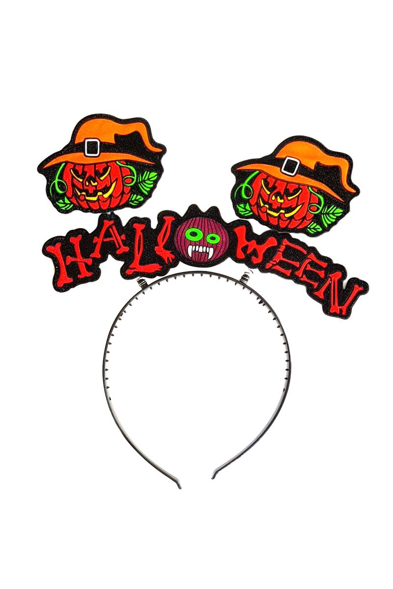 Halloween Yazılı Canavar Figürlü Taç 1 Adet