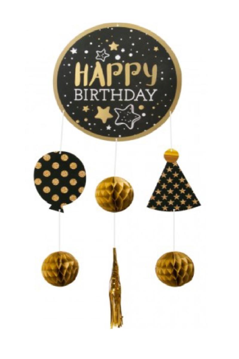Happy Birthday Dekoratif Süsleme Seti 6lı
