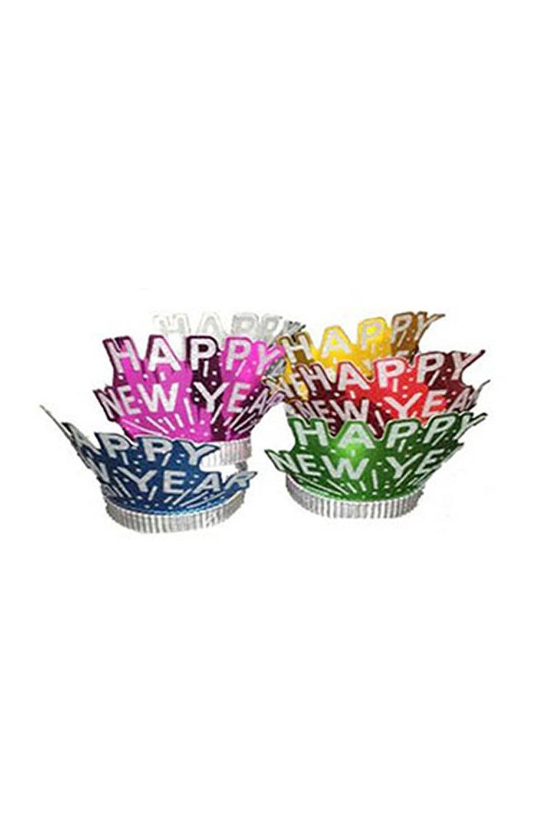 Happy Birthday Karton Taç 12li