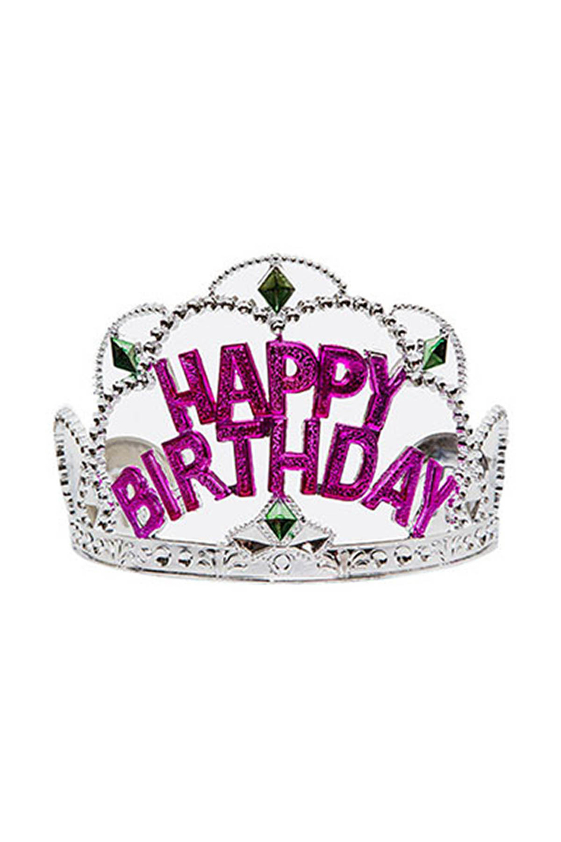 Happy Birthday Prenses Taç 1 Adet