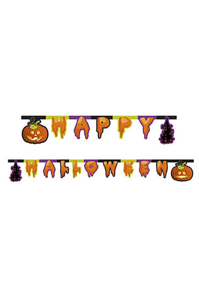 Happy Halloween Harf Afiş 1 Adet