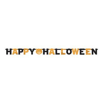 Happy Halloween Harf Afiş