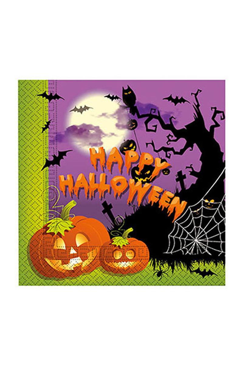 Happy Halloween Kağıt Peçete 33x33cm 20li