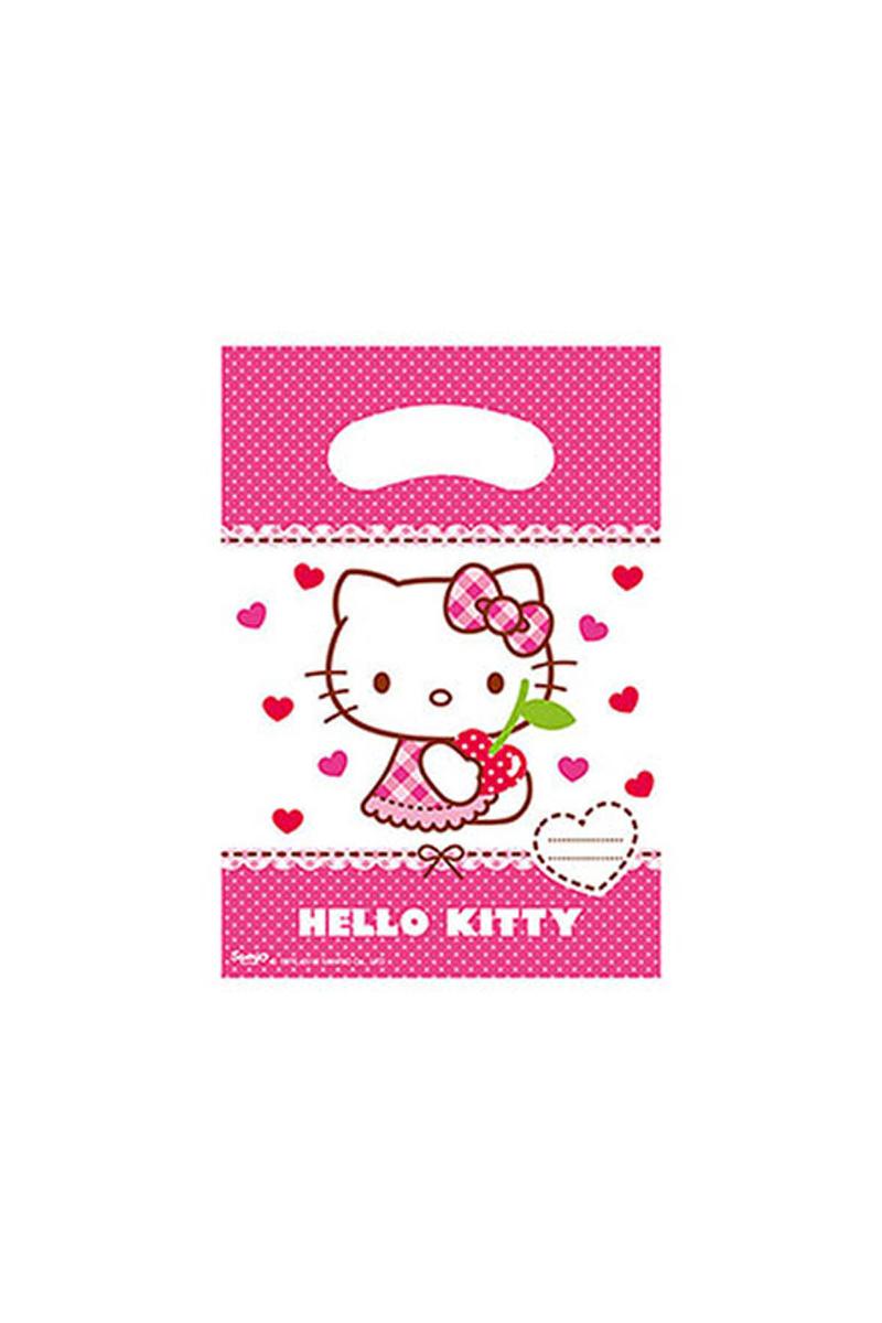 Hello Kitty Kalpler Parti Çantası 6lı