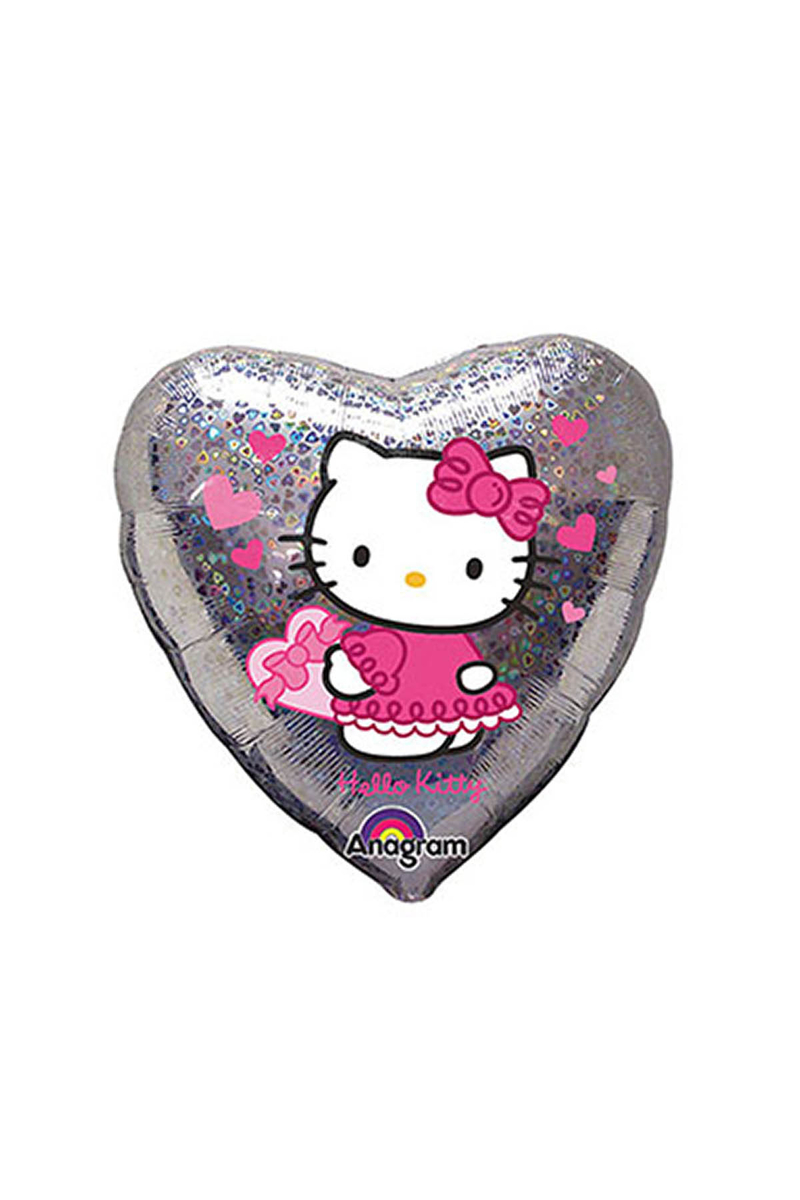 Hello Kitty Love Kalp Folyo Balon 43cm 1 Adet