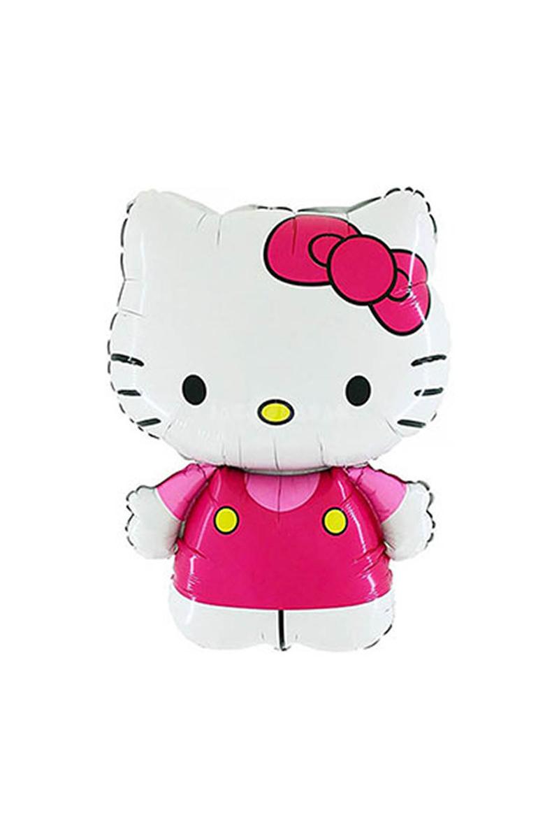 Hello Kitty Pembe Folyo Balon 75cm 1 Adet