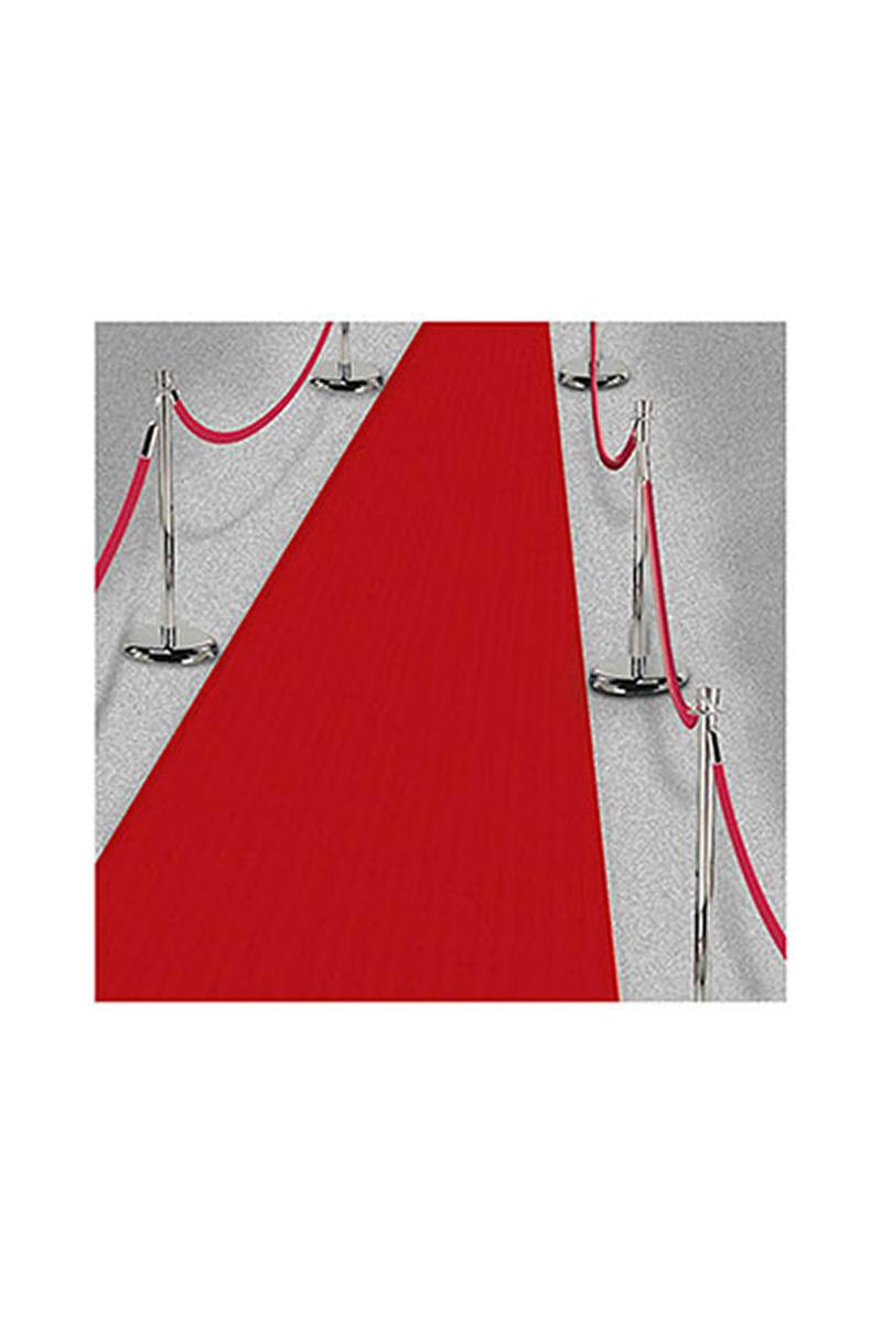 Hollywood Yıldızı Kırmızı Tela Halı 70cm x 10m 1 Adet