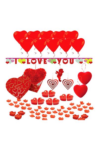 I Love You Sürpriz Hediye Paketi Seti