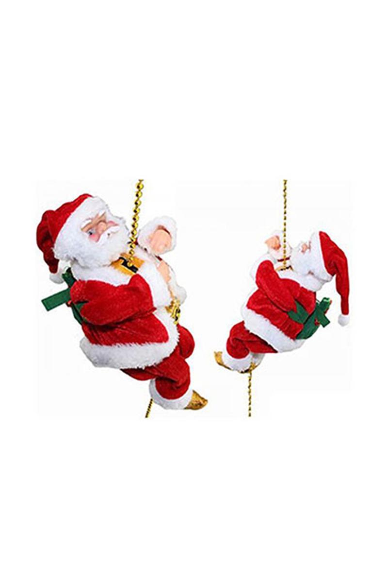 İpe Tırmanan Noel Baba 20cm 1 Adet