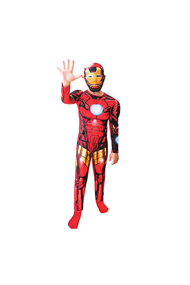 Iron Man Çocuk Kostüm 4-6 Yaş 1 Adet