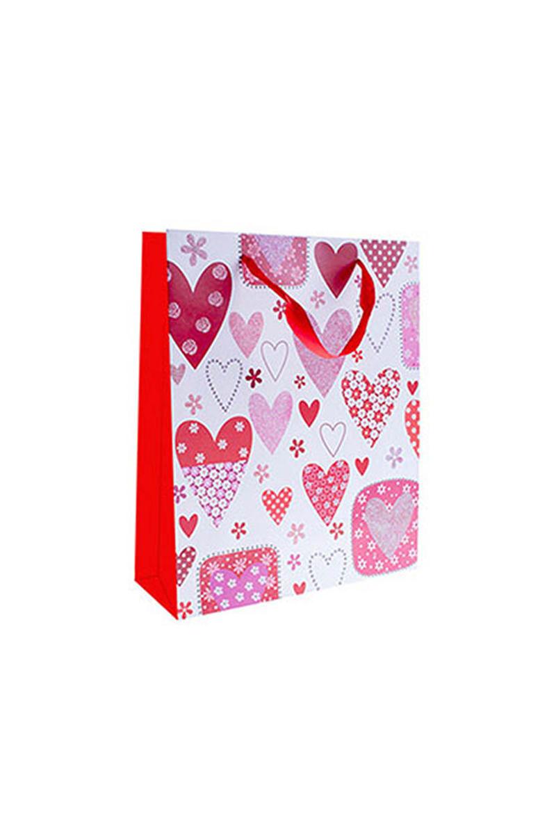 Kalpler Dünyası Kırmızı Karton Çanta 1 Adet