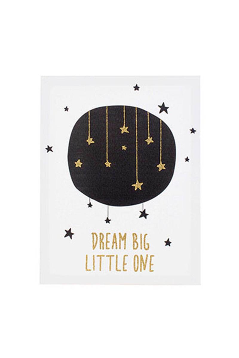 Kanvas Tablo Dream Big Little One 30x40cm 1 Adet - Thumbnail