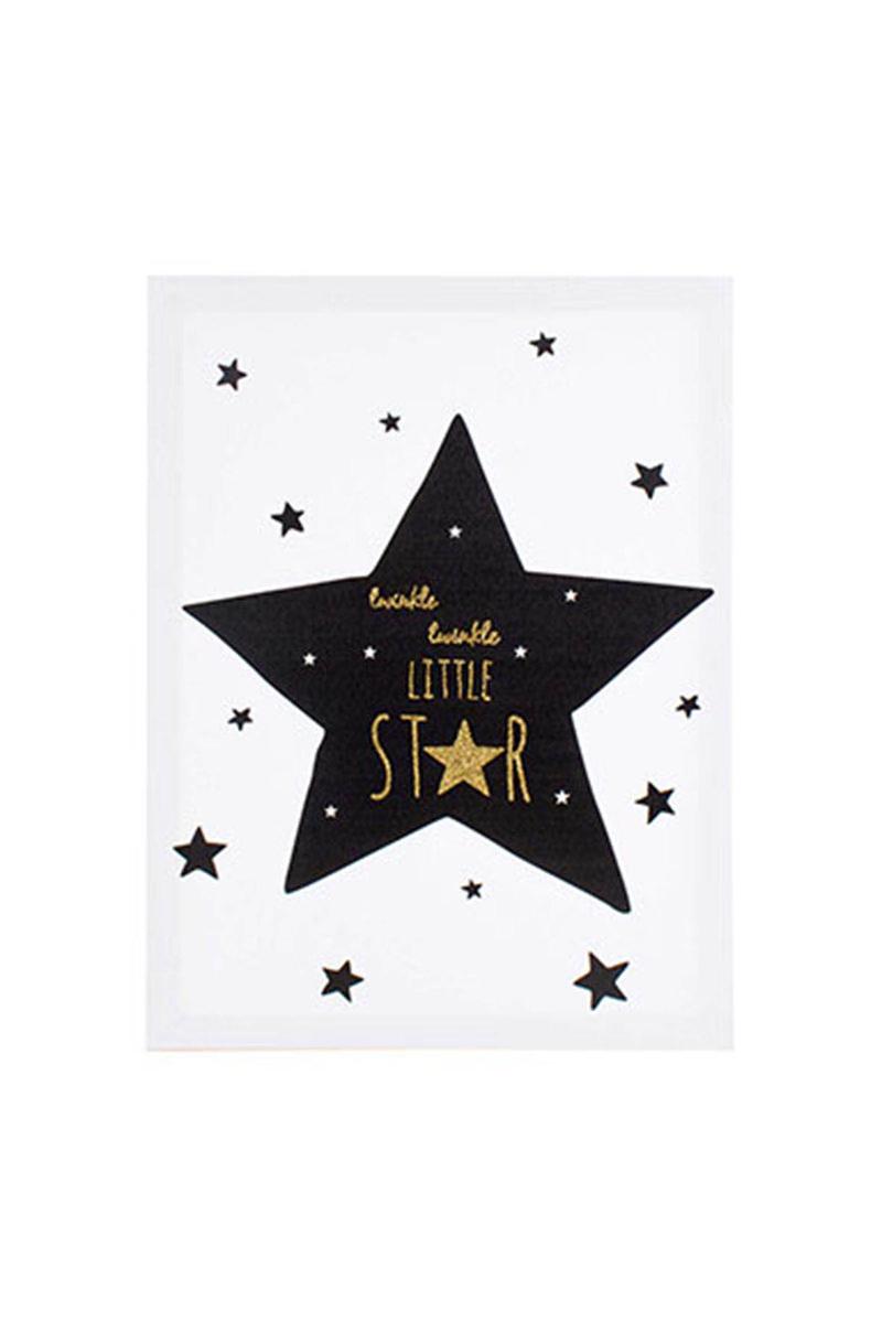 Kanvas Tablo Little Star 30x40cm 1 Adet - Thumbnail