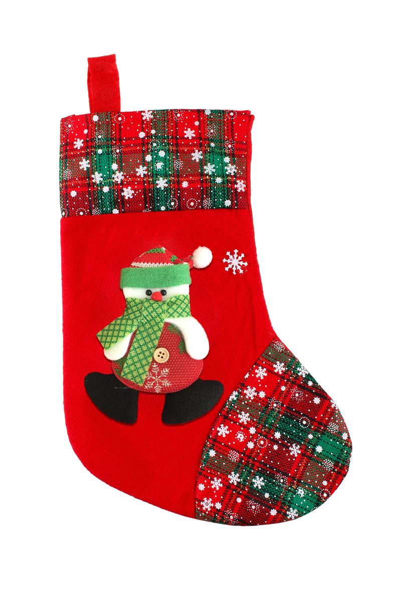 Kardan Adam Yılbaşı Renkleri Yılbaşı Çorabı 35cm 1 Adet