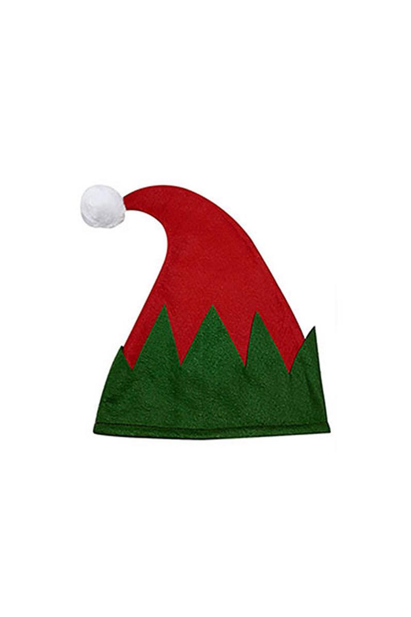 Keçe Noel Baba Şapkası Kırmızı 1 Adet