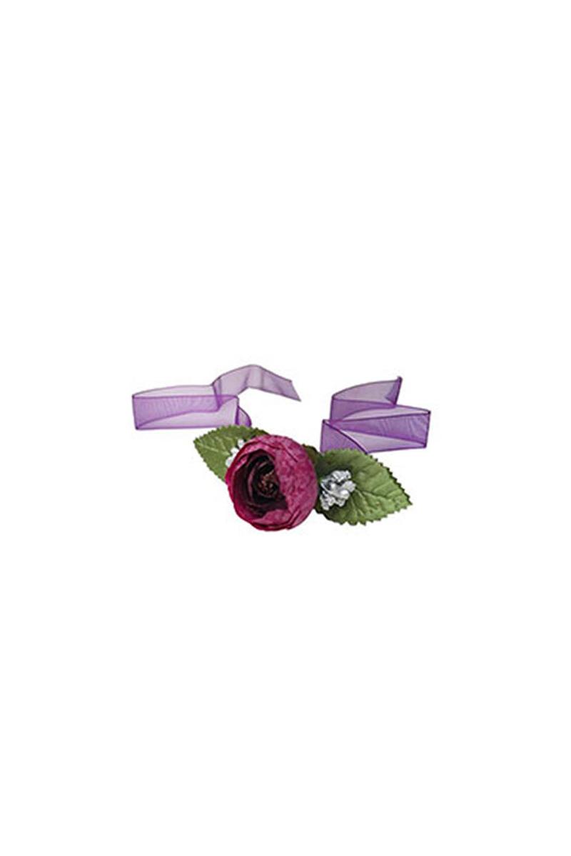 Kına Bilekliği Çiçekli Mor 5li - Thumbnail