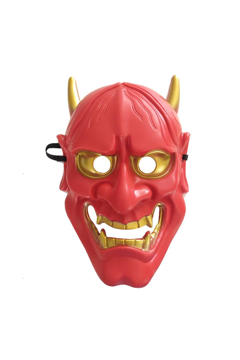Kırmızı Devil Şeytan Maske 1 Adet