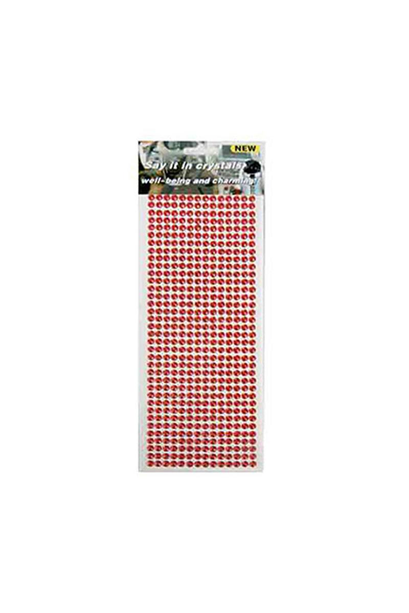 Kırmızı Elmas Sticker 500lü