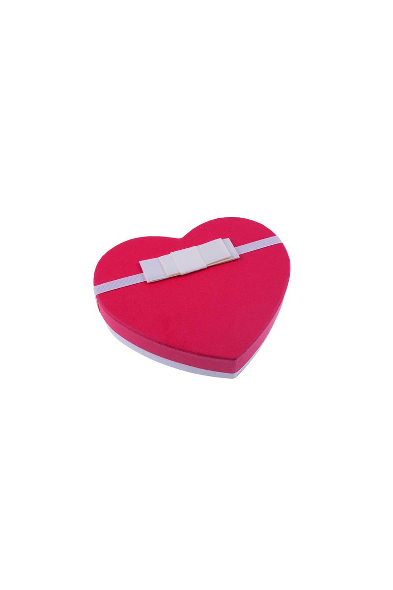 Kırmızı Kalp Çikolata Kutusu 1 Adet - Thumbnail