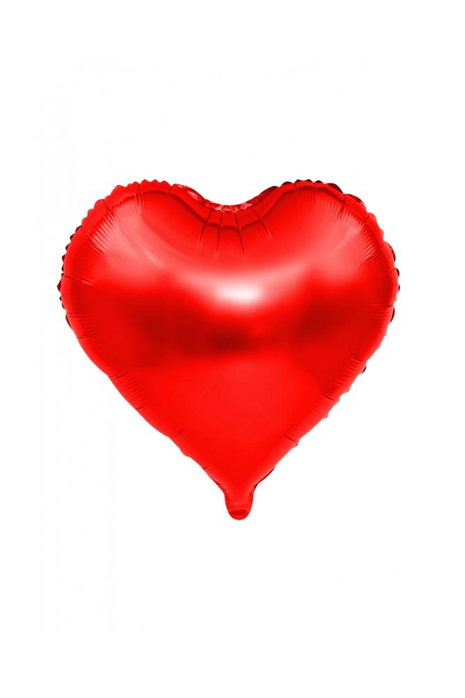 Kalp Folyo Balon 45cm (18 inch) Kırmızı 1 Adet
