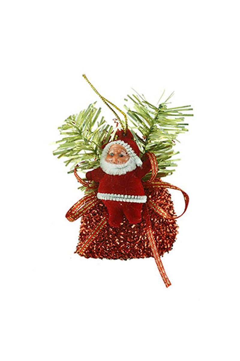Kırmızı Mini Noel Baba Asma Süs
