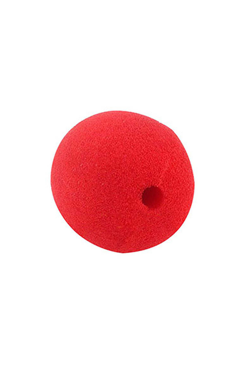 Kırmızı Palyaço Burnu 1 Adet - Thumbnail