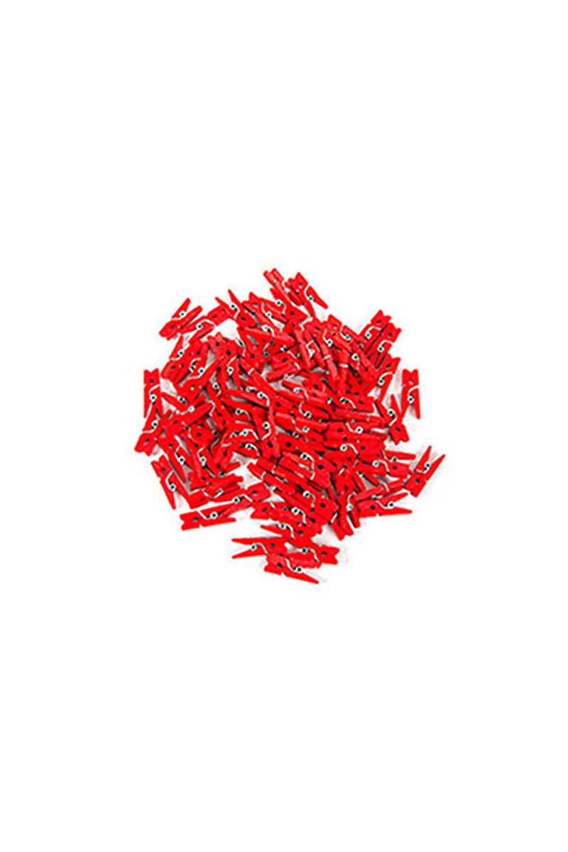 Kırmızı Süs Mandal 100lü
