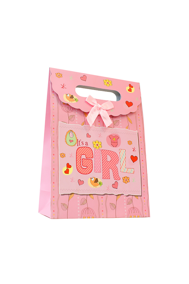 Kız Bebek Lüks Hediye Paketi 24x31cm 1 Adet