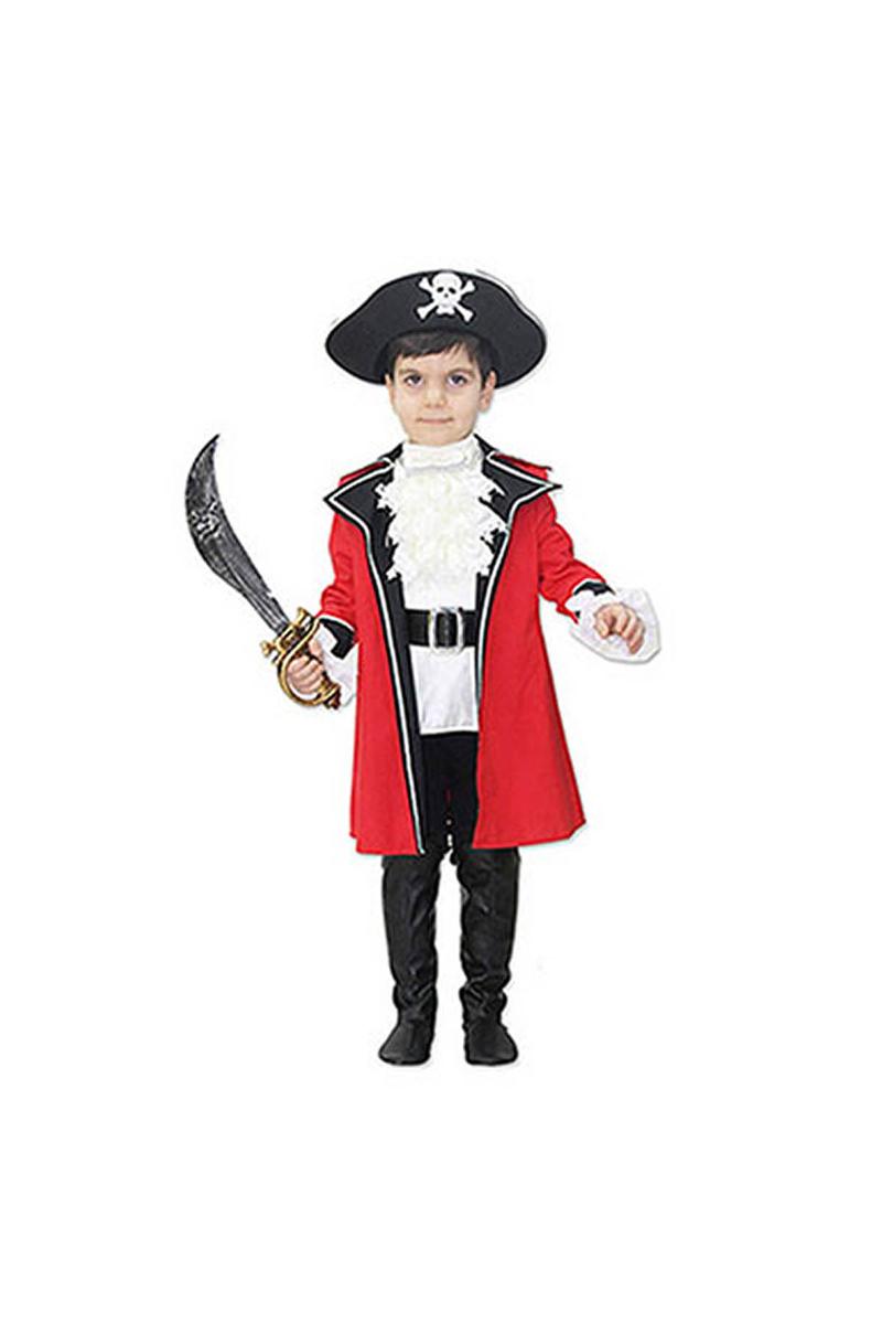 Korsan Çocuk Kostüm 5-6 Yaş 1 Adet