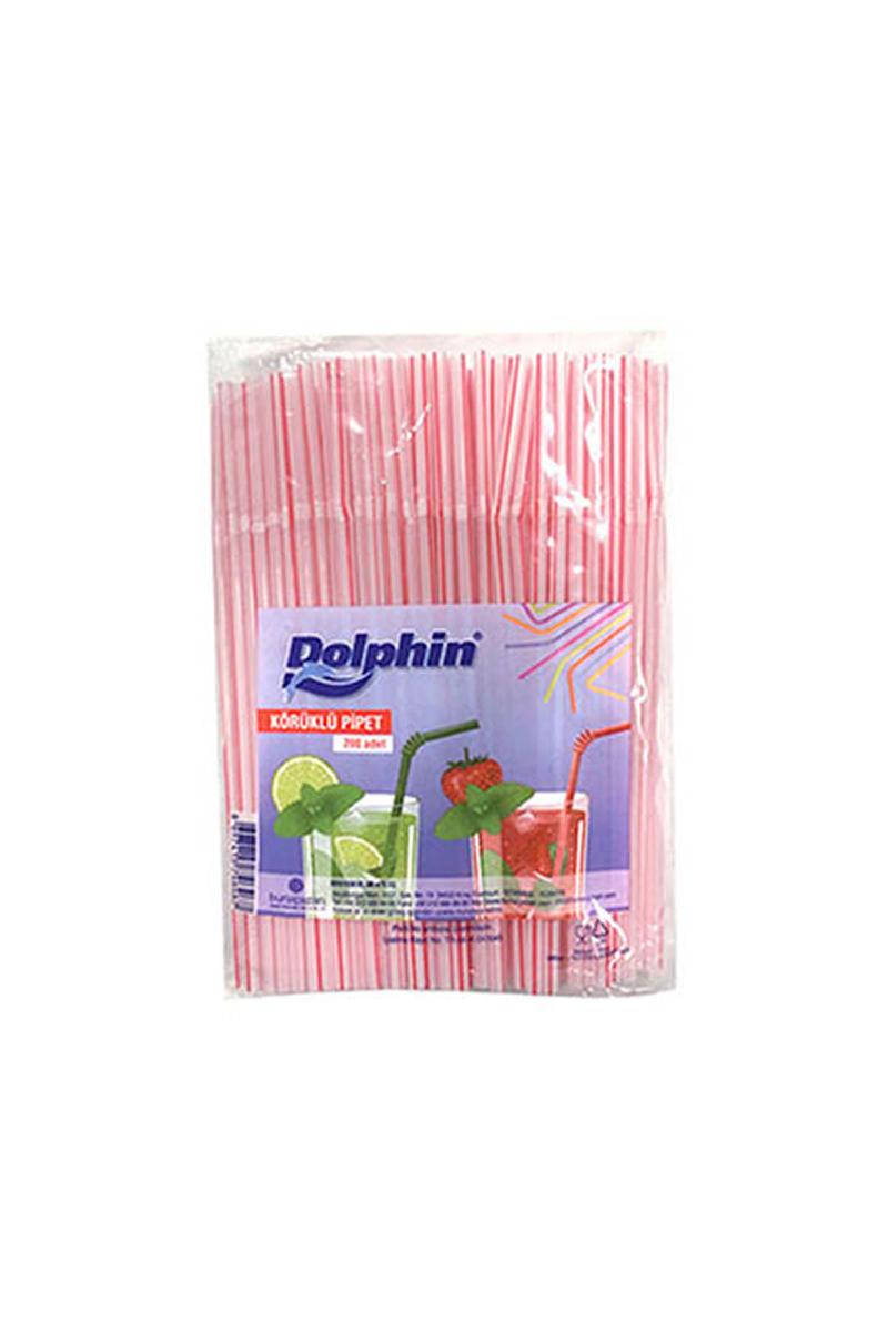 Dolphin Körüklü Pipet 200lü