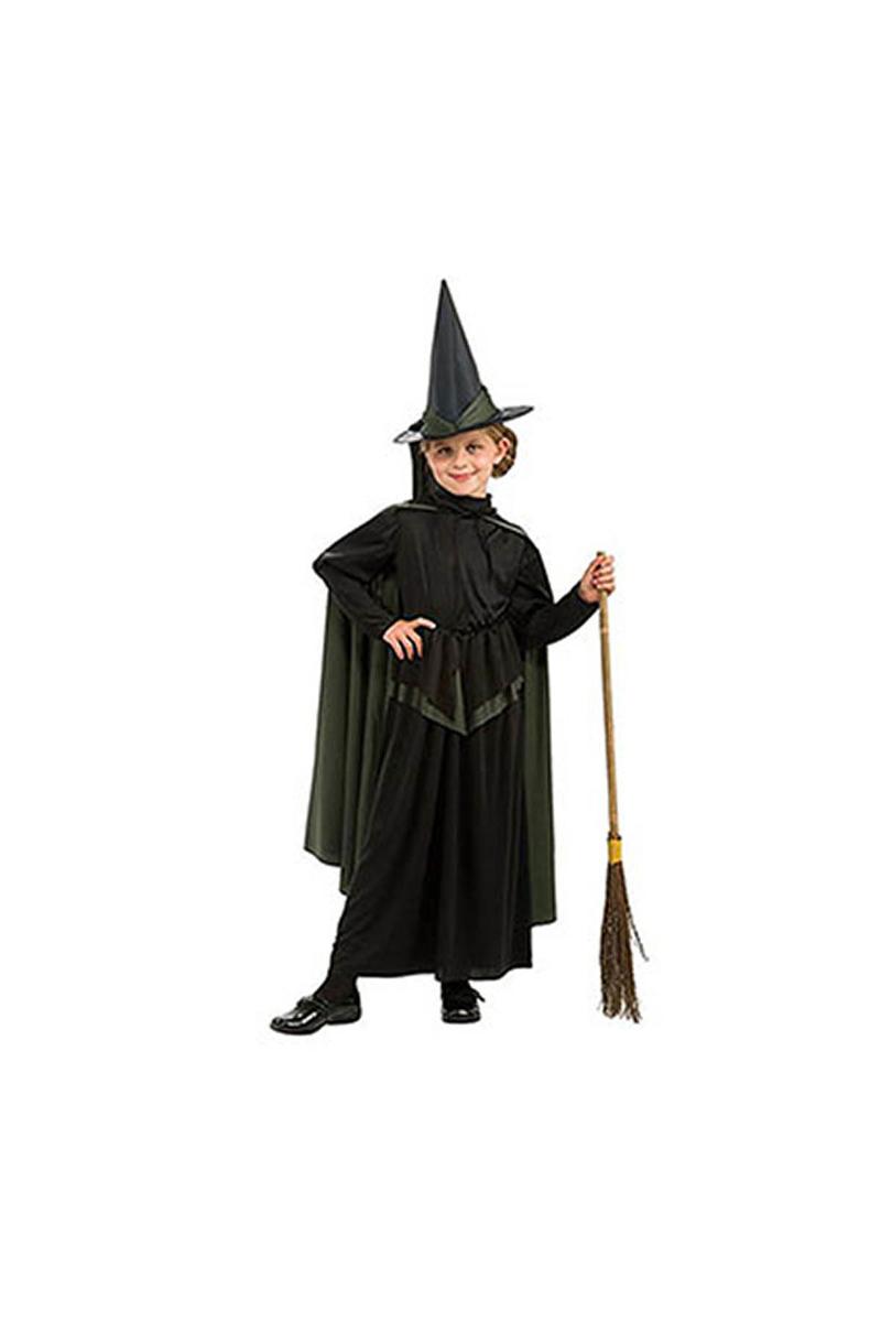 Kötü Cadı Çocuk Kostüm 5-7 Yaş 1 Adet