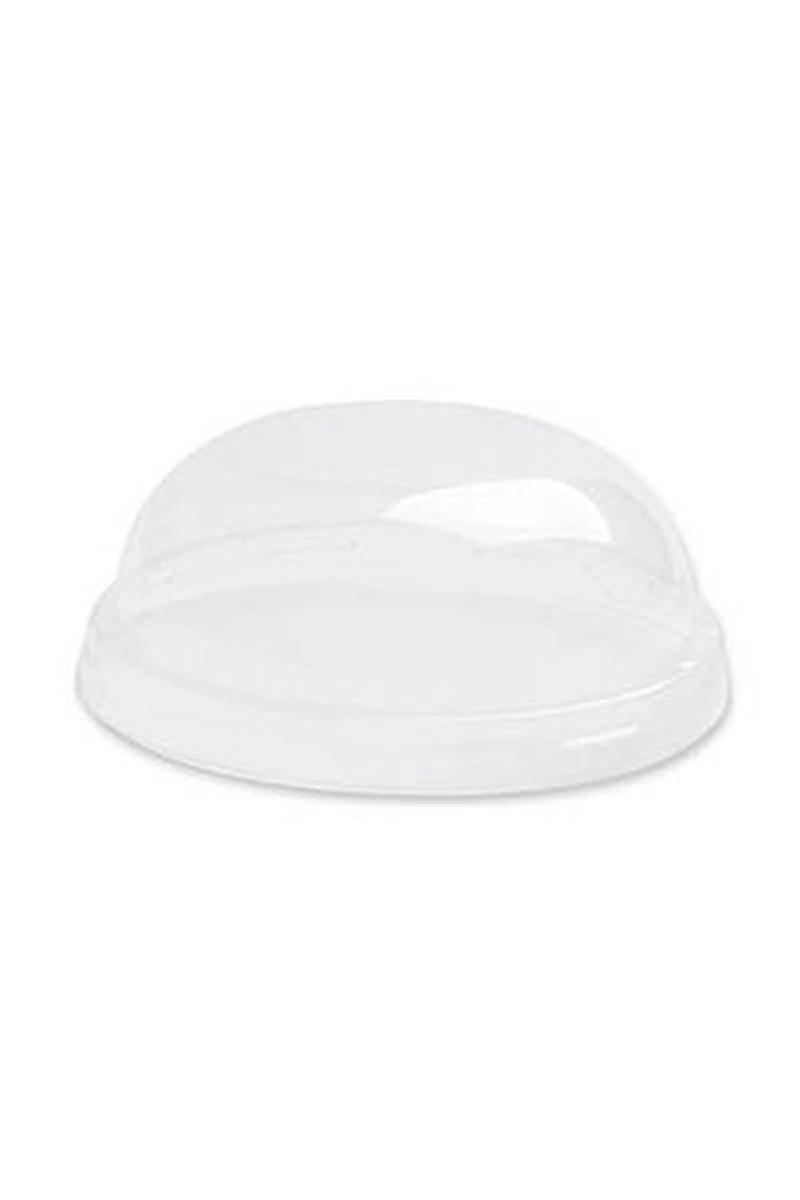 Plastik Kristal Ayaklı Tatlı Kase Kapağı 200cc 25li