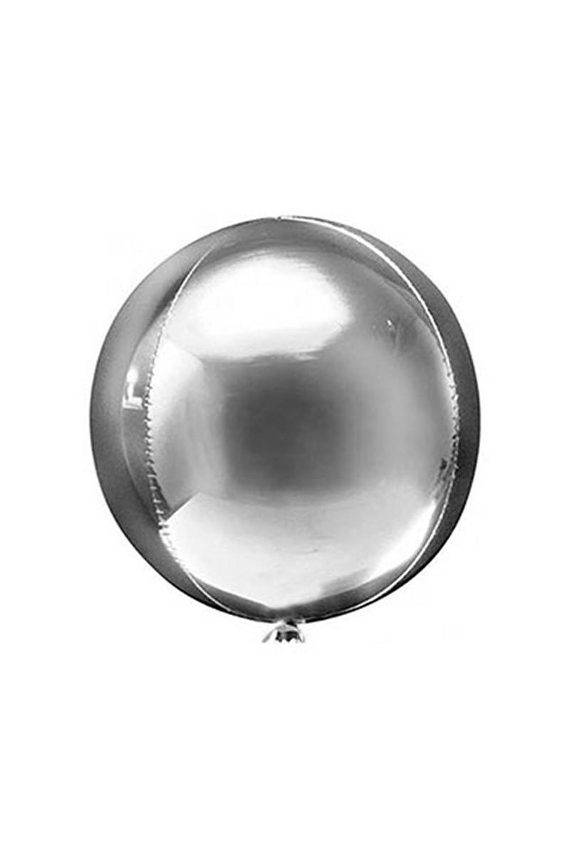 Küre Folyo Balon Gümüş 50cm 1 Adet