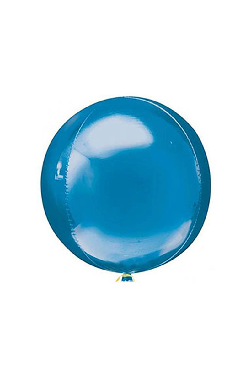 Küre Folyo BalonMavi 50cm 1 Adet