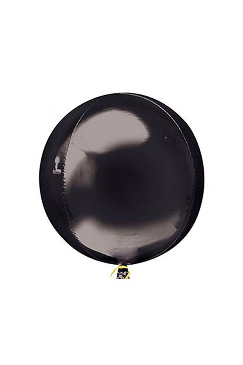 Küre Folyo Balon Siyah 50cm 1 Adet