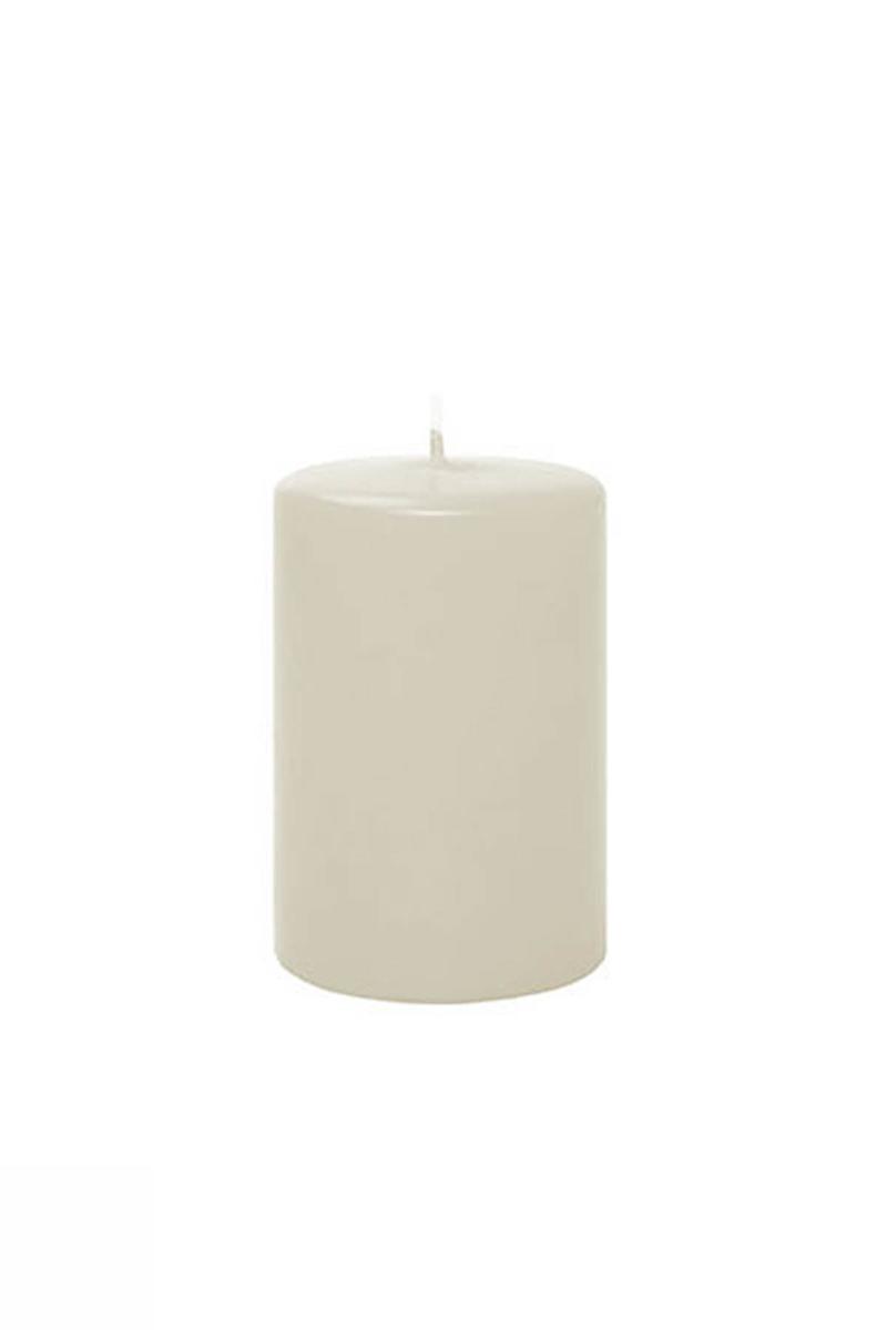 Kütük Mum Beyaz 5cm x 10cm 1 Adet - Thumbnail