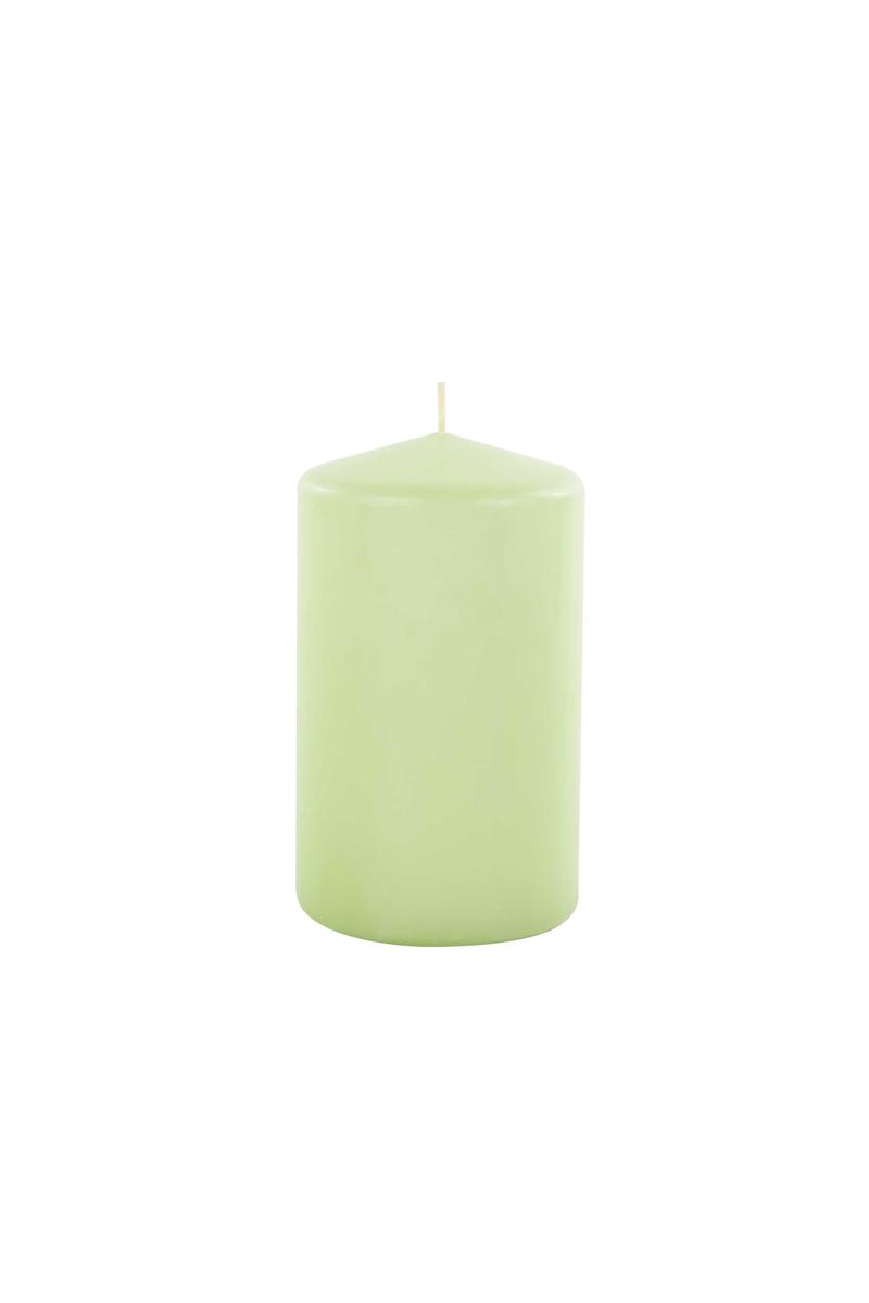 Kütük Mum Mint Yeşili 6x10cm 1 Adet