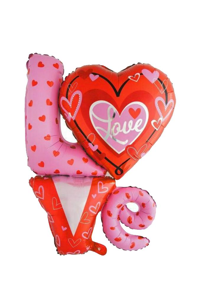Love Kalp Folyo Balon 1 Adet