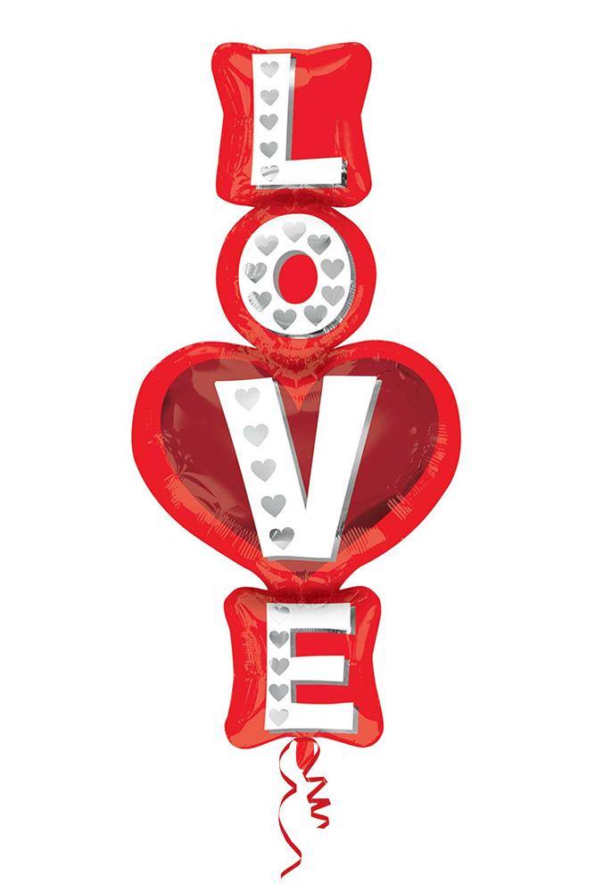 Love SuperShape Folyo Balon 99cm 1 Adet