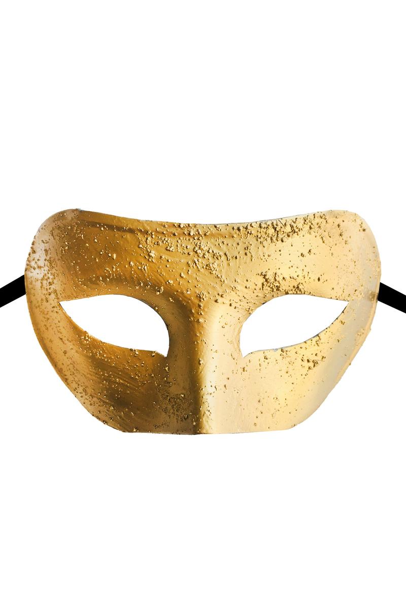 Lüks Balo Maske Altın 1 Adet
