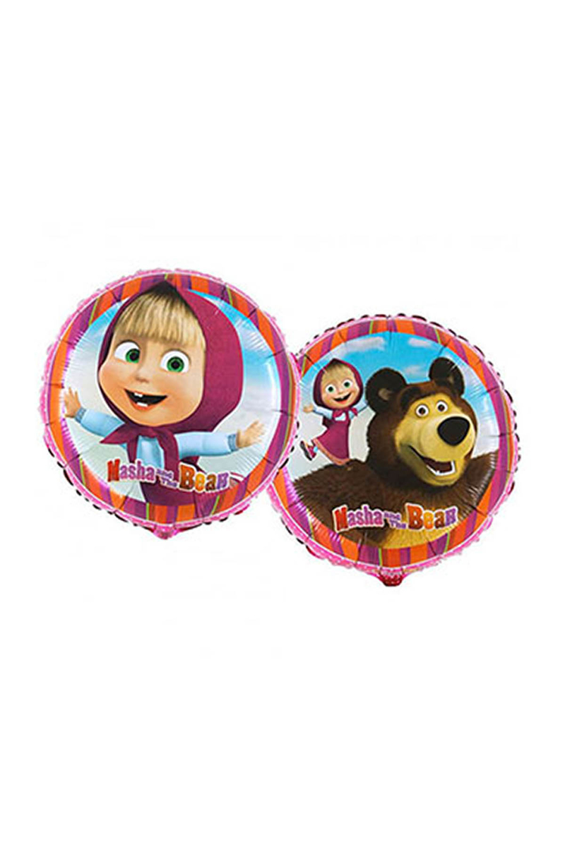 Masha Ve Koca Ayı Folyo Balon 45cm 1 Adet