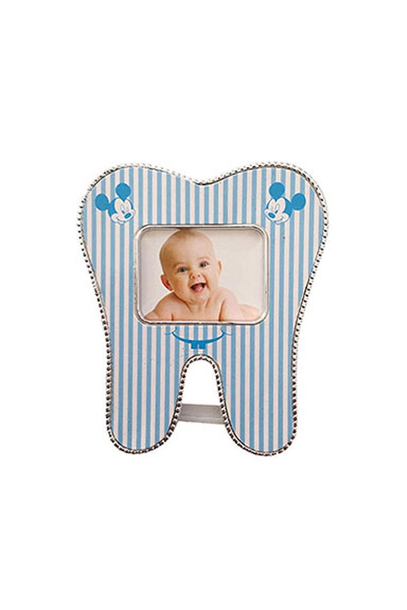 Mavi Diş Hediyelik Magnetli Çerçeve 1 Adet