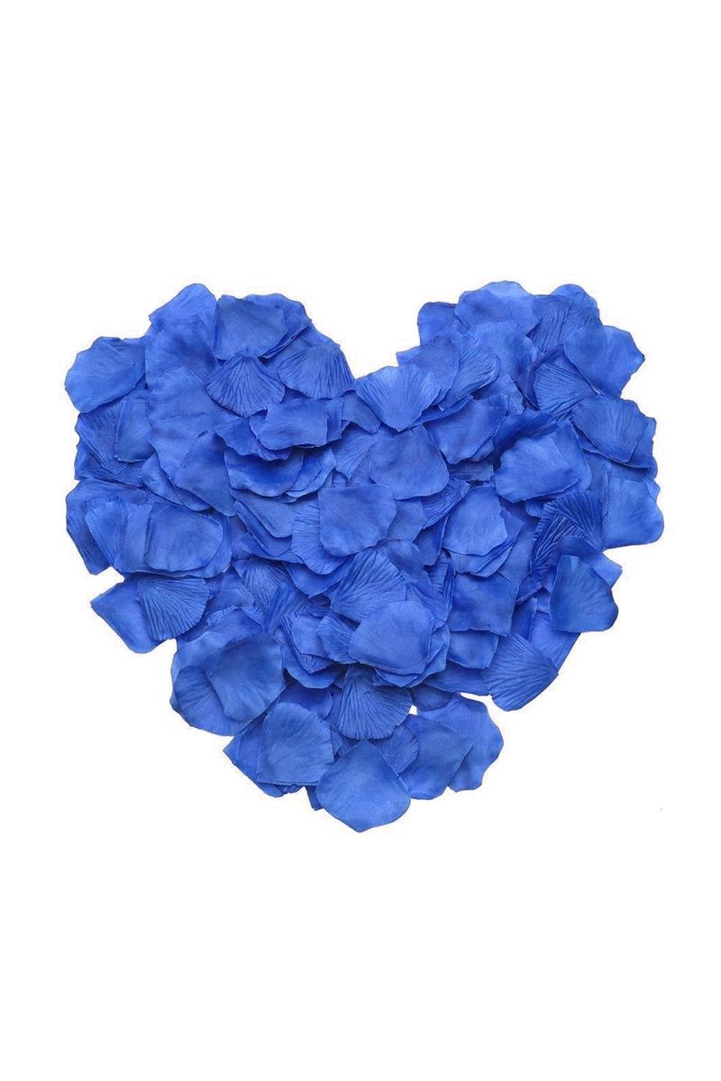 Mavi Dökme Gül Yaprağı 144lü - Thumbnail