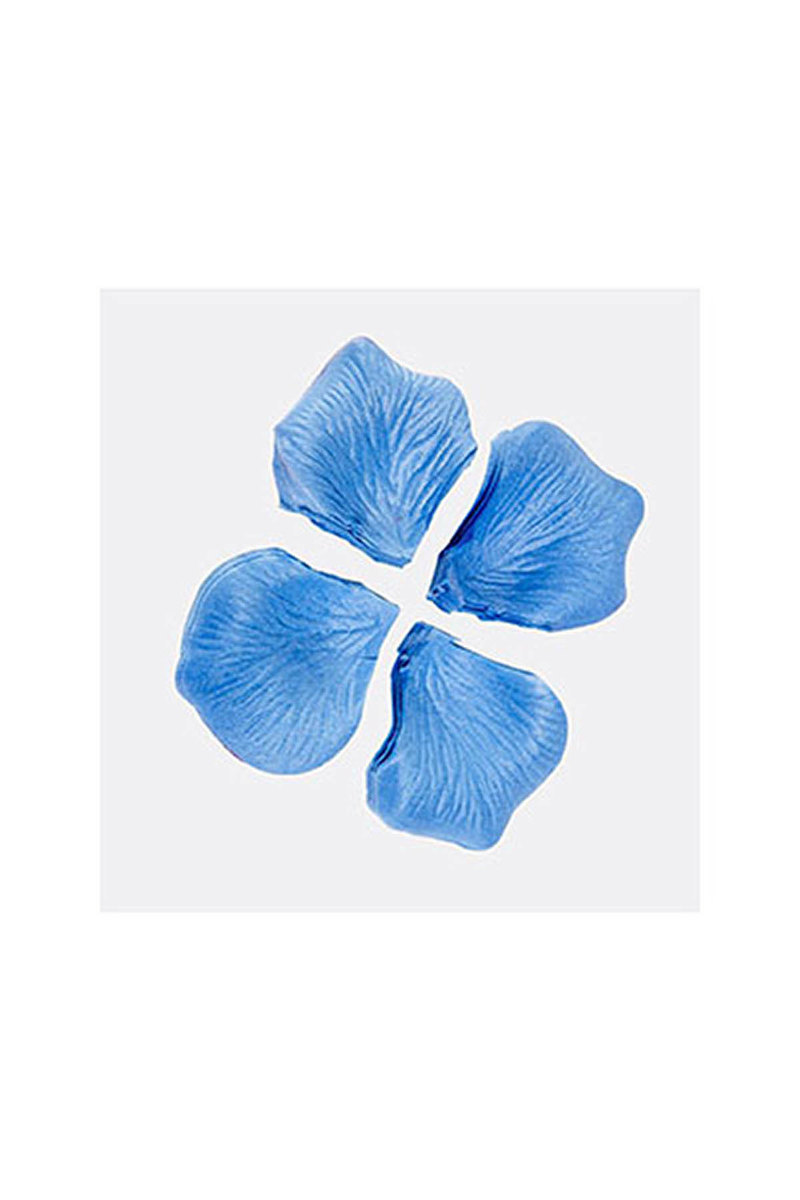 Mavi Dökme Gül Yaprağı 144lü