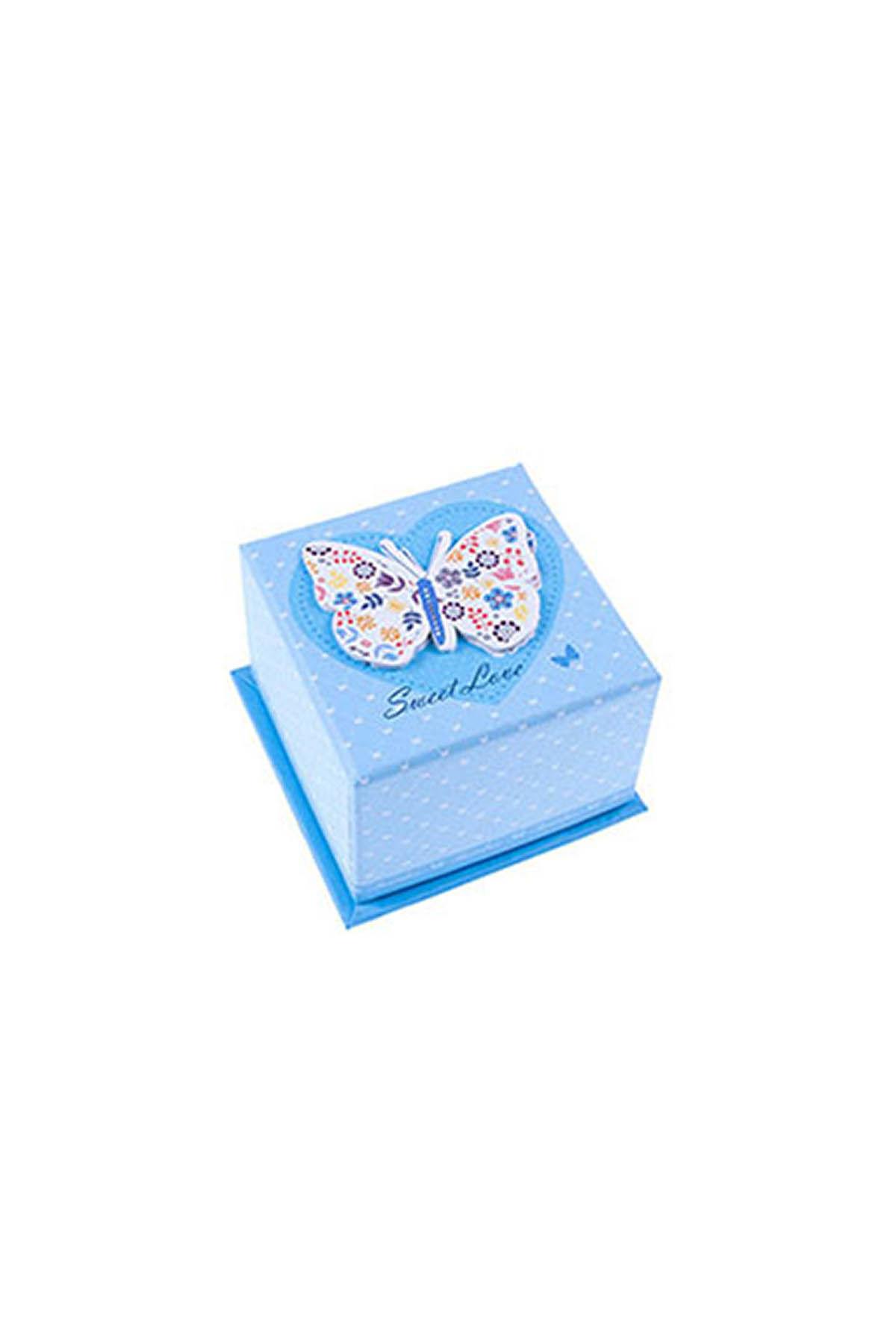 Mavi Kelebek Hediye Kutusu